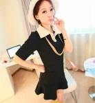SM 2764 - black @ Rp. 78 rb, cotton polyester