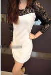 SM 3141 - white @ Rp. 72 rb, Cotton lace