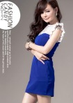 SV 3288 - blue @ Rp. 70 rb,, Cotton Brocatte