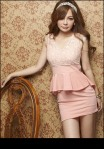 SV 3393 - pink @ Rp. 70 rb, Cotton lace